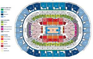 Basketball Arena Floor Plan by Chesapeake Energy Arena Oklahoma City Ok Seating Chart View