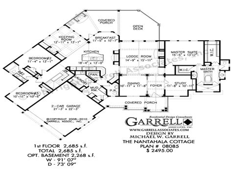 rustic mountain home floor plans rustic luxury mountain house plans nantahala cottage house