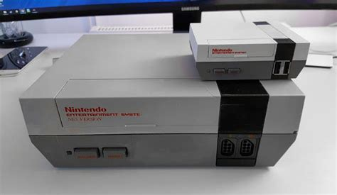 new nes console new nes mini is even smaller than nintendo s official