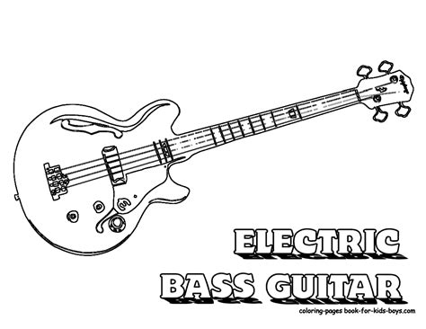 coloring pages guitar gritty guitar coloring free electric guitar