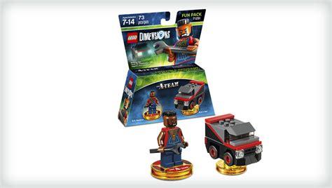 Lego Team b a baracus characters dimensions lego