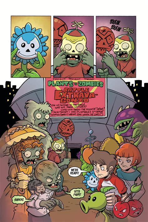 plants vs zombies volume 7 battle extravagonzo hc