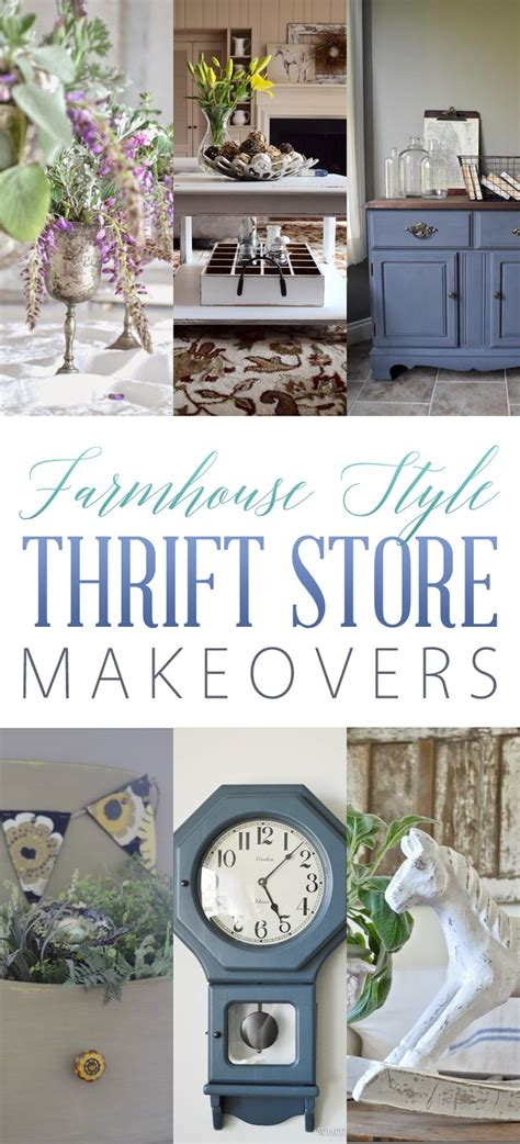 thrift store home design farmhouse style thrift store makeovers the cottage