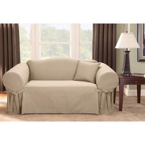 sure fit logan slipcover sure fit 174 logan sofa slipcover 292830 furniture covers