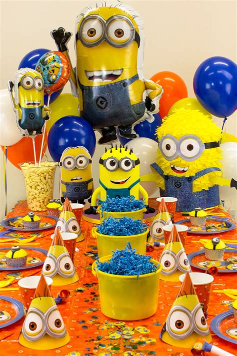 Minions Decoration by Minion Ideas For Delights