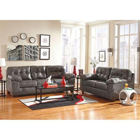 durable living room furniture alliston durablend gray living room set living room sets