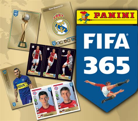 panini launches fifa 365 a new sticker collection that