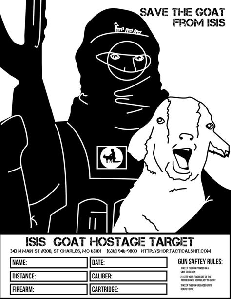 printable military jokes save the goat from isis free printable shooting targets