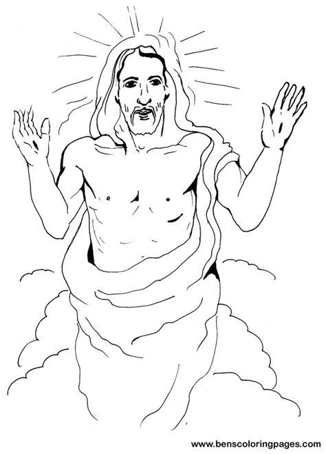jesus christ resurrection pictures coloring pages resurrection of jesus coloring pages az coloring pages