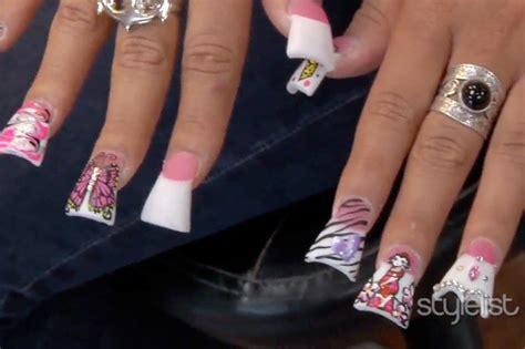 Flare Tip Nail Designs