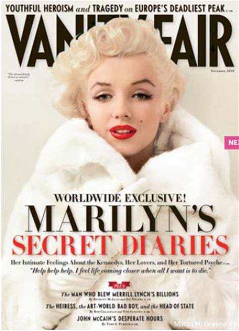 Marilyn Vanity Fair cele bitchy vanity fair s marilyn takes yet another cover