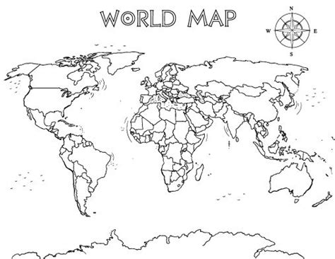 World Map Printable Pdf