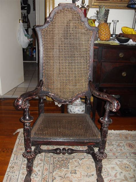 Chair Show by William And Oak Armchair Circa Late 17th To Early