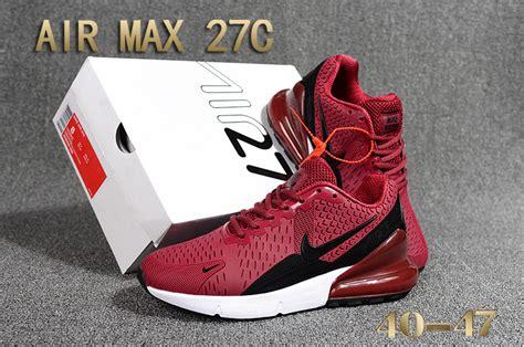 nike air max  kpu burgundy black white trainers