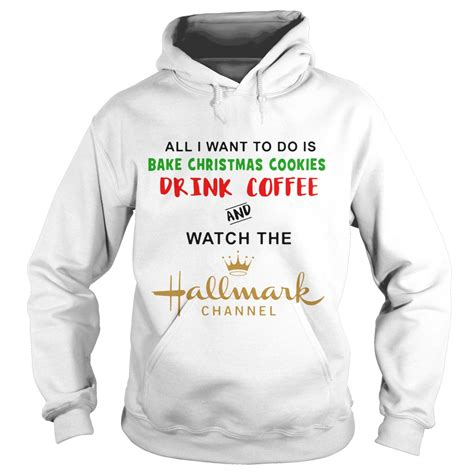 bake cookies drink coffee and the hallmark