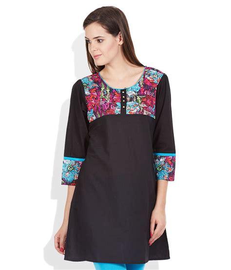 Rainbow Shirt Tunic buy rainbow black tunic at best prices in