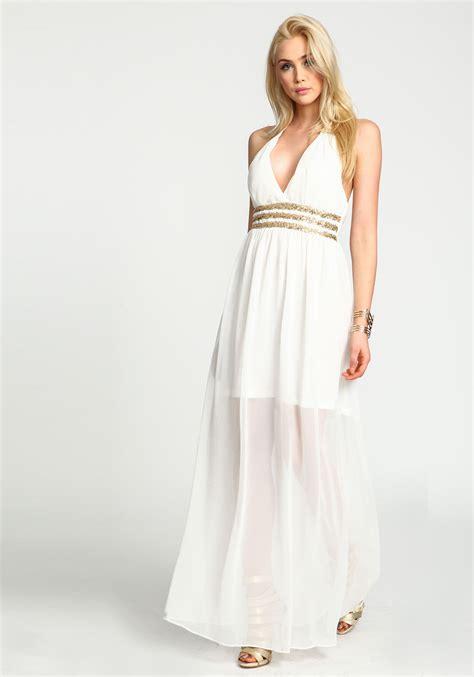 White Maxi white maxi dress dressed up