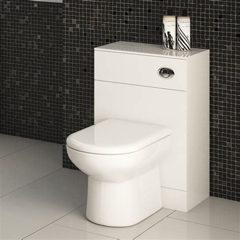 bathroom 4 less veebath linx 500x300mm wc toilet vanity unit d shaped back
