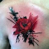 Opium Poppy Flower Tattoo | 600 x 600 jpeg 66kB