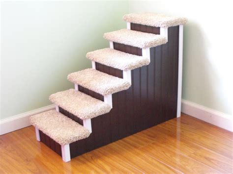 dog stairs for high bed dog stairs 28 high designer pet stairs custom made dog