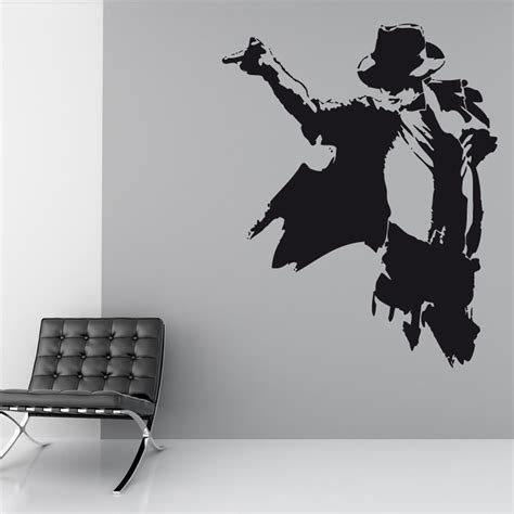 michael wall stickers michael jackson wall michael jackson removable