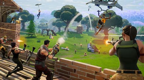 Fortnite Gets a Battle Royale Map Update with New Areas