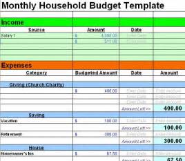 House Budget Spreadsheet Template 25 Best Ideas About Home Budget Spreadsheet On Pinterest