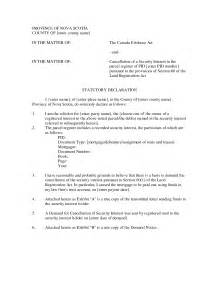 statutory declaration template letter format 187 declaration letter format cover letter