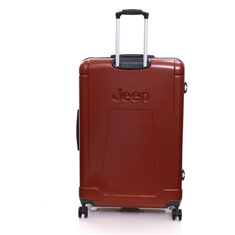jeep luggage jeep large 80 cm shell spinner trolley