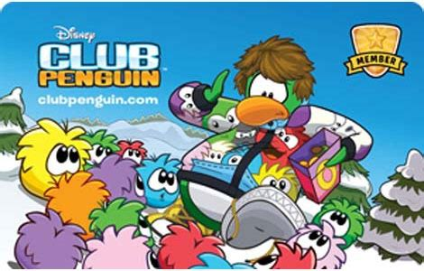 Club Penguin Gift Card Codes - disney club penguin membership cards bulk fulfillment online