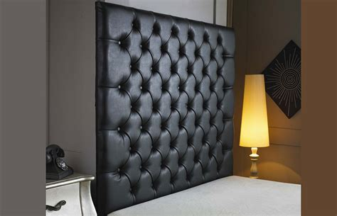 belmont buttoned faux leather wallboard