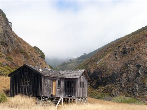 Cabin California by Wooden Cabin The Lost Coast California