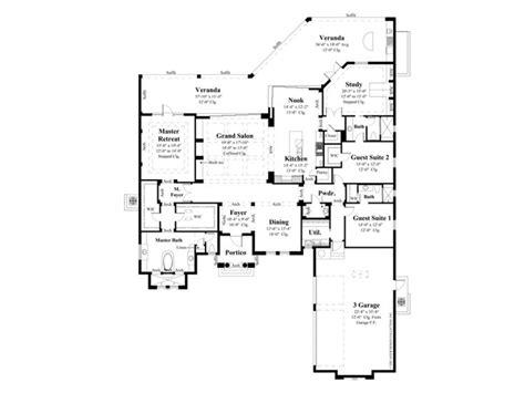 eplans mediterranean house plan six bedroom 7752 eplans mediterranean modern house plan andalusian