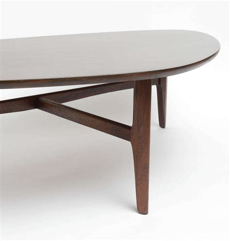 pearsall style kidney bean coffee table at 1stdibs
