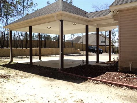 Carport Addition To House le parking with the the 2 car carport that has addition parking to the side carport ideas