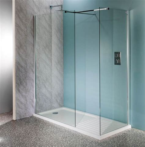 Walk In Bathroom Ideas by Deluxe10 1700 X 800mm Walk In Shower Wet Room Pack Amp Tray