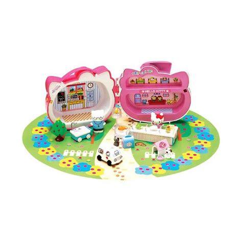 Figure Mainan Hello jual pet clinic sanrio hello mainan anak pink harga kualitas