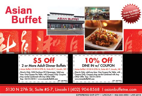 asian buffet experience our city