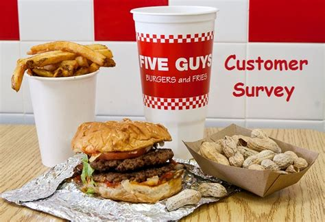 Five Guys Gift Card - five guys customer survey win 25 gift cards every month sweepstakesbible