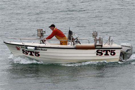 fishing boat attack killer shark launches terrifying attack near cornwall