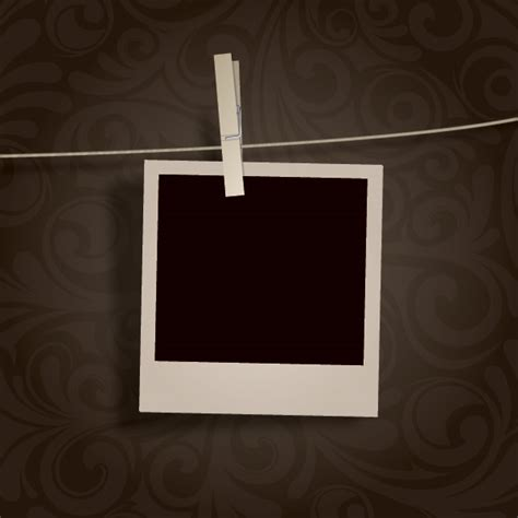 blank photo hanging 1 free images at clker com vector