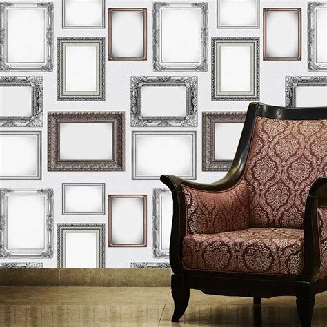 Frame Pattern On Wall | new 1 wall frames pattern picture photo frame ornate