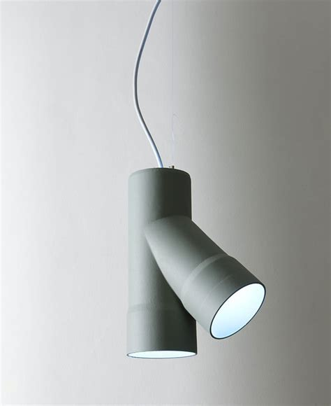 Lamps Inspired By Industrial Tubes   InteriorZine