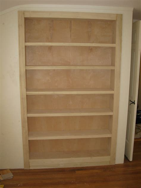 Bookcase In Closet by Closet Bookcase A Concord Carpenter