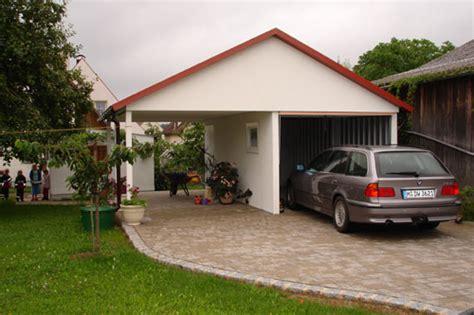 garage oder carport carports und garagen