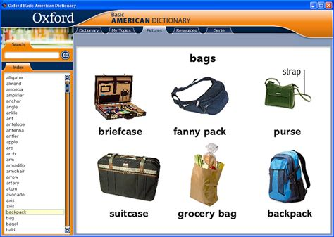 Basic Oxford 1 Oxford Basic American Dictionary For Learners Of