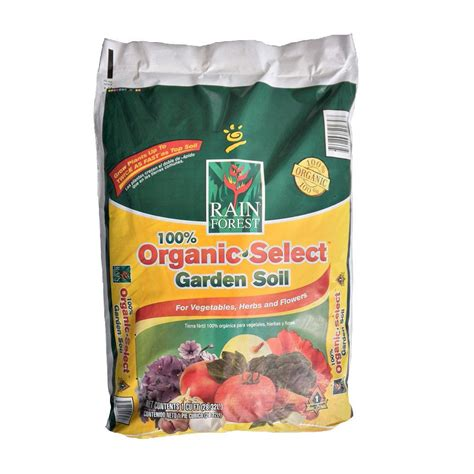 Rain Forest 1 Cu Ft 100 Organic Garden Soil Rfos1 The Organic Vegetable Garden Soil
