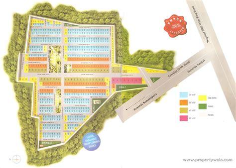 Layout Plan In Bangalore | psricon valley anekal bangalore residential plot