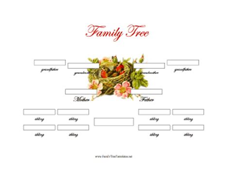 3 generation family tree template word 3 generation family tree with siblings template