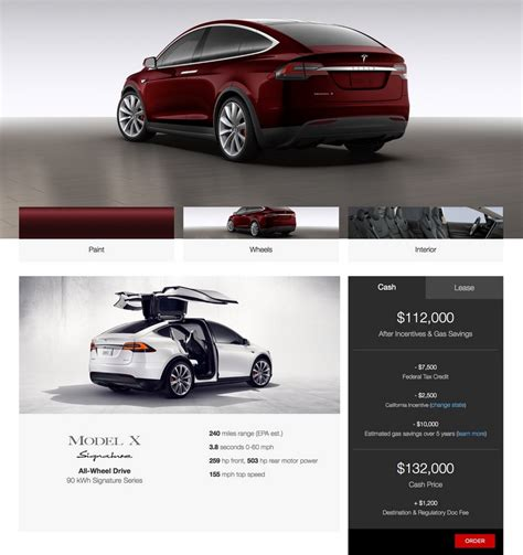 Cost Of Tesla Model X Tesla Model X Price 2016